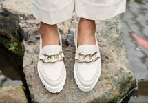 Mocassin Off-white Beebold 4-a